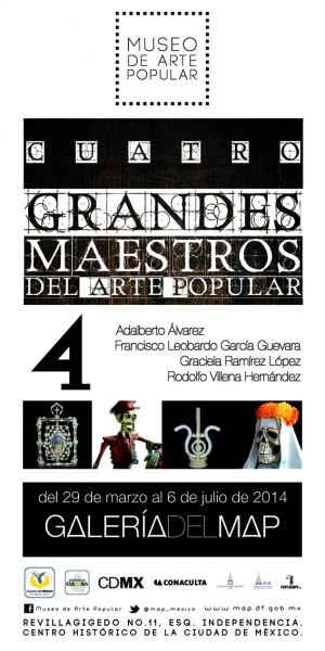 Cuatro Grandes Maestros del Arte Popular