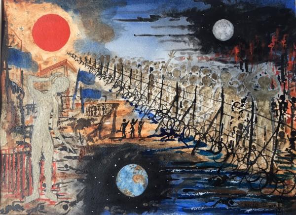 Universo de barro Refugiados. David Paquet