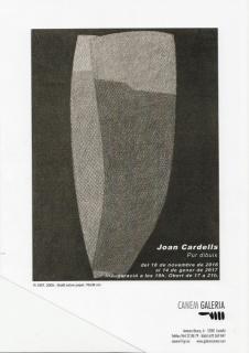 Joan Cardells, Pur dibuix