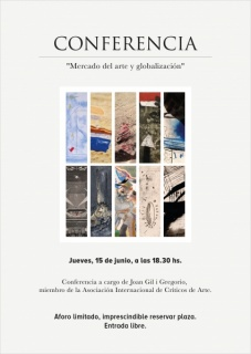 """Conferencia """"Mercado del arte y globalización"""""""