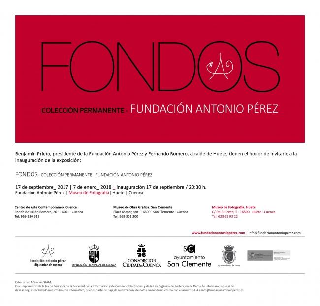 Fondos · Colección permanente · Fundación Antonio Pérez