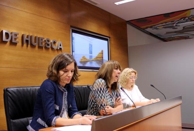 Presentación del fallo. Cortesía de la Diputación de Huesca