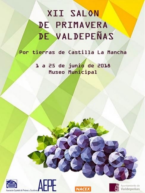 Mª Dolores Barreda Pérez. Cartel Valdepeñas 2018