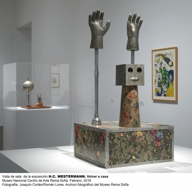 """Vista de una de las salas de """"H.C. Westermann: Volver a Casa"""" - Cortesía MNCARS"""