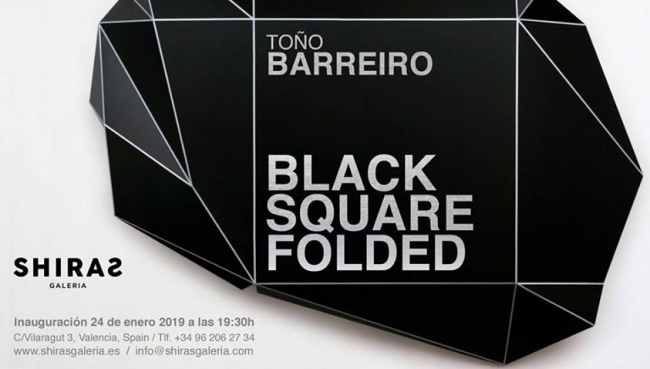 Black Square Folded