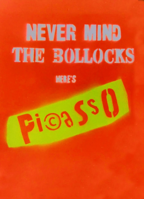Never mind the bollocks here's Pi©asso
