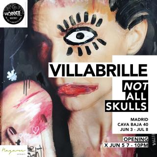 Not All*Skulls, Villabrille en Hopper Madrid