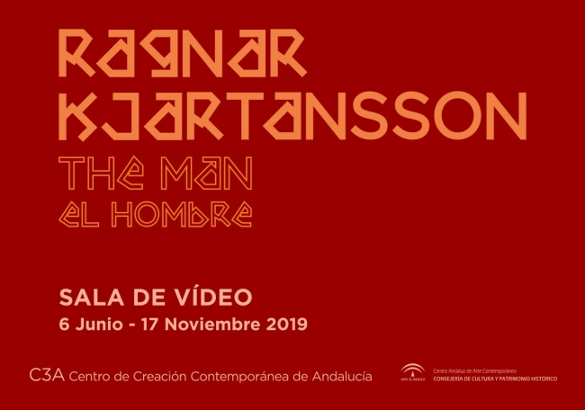 Ragnar Kjartansson. The man