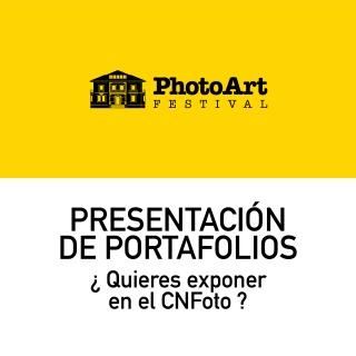 CNFOTO: Presentación de portafolios