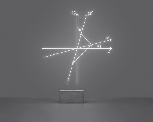 Andrea Galvani, The Relativity of Simultaneous Events [In Motion], 2020. Imagen cortesía de Galería CURRO