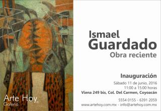 ISMAEL GUARDADO, OBRA RECIENTE