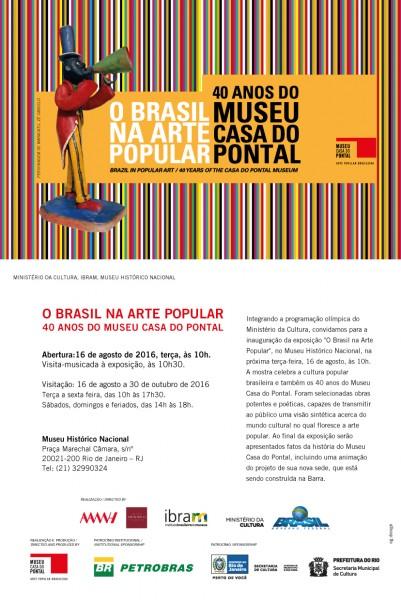 O Brasil na Arte Popular - 40 anos do Museu Casa do Pontal
