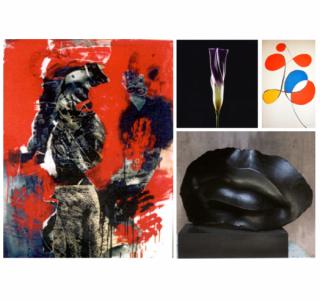Pintura, fotografía y escultura