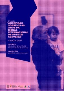 Debate: Antevisão dos 40 anos da Bienal Internacional de Arte de Cerveira
