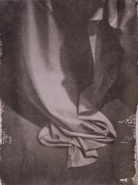Elyeser Szturm - cianotipia  viragem em café  papel Hahnemuhle Auqarell -  40 x 30 cm