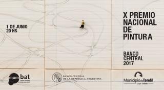 X Premio Nacional de Pintura Banco Central 2017. Imagen cortesía museo bellas artes tandil
