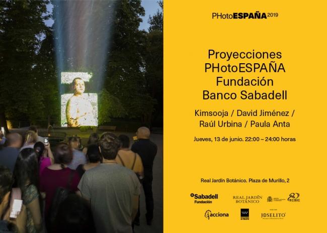 Proyecciones PHotoEspaña Fundación Banco Sabadell