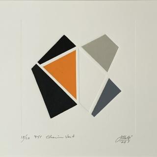Juan Melé, Título | 2008| Gravura em Metal (gofrado) | 47 x 38 cm| dimensões c/ moldura | R$ — Cortesía de Mul.ti.plo Espaço Arte