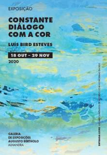 Luís Bird Esteves. Constante Diálogo com a Cor