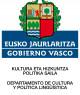 Departamento de Cultura y Política Lingüística del Gobierno Vasco