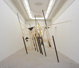 Exhibición colectiva al aire libre en Zamora 15, Colonia Condesa — Cortesía de QiPO