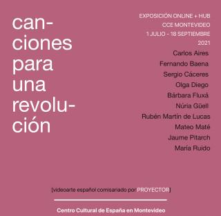 Proyector_Canciones para una revolución