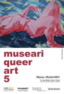 Afiche Museari Queer Art 2021
