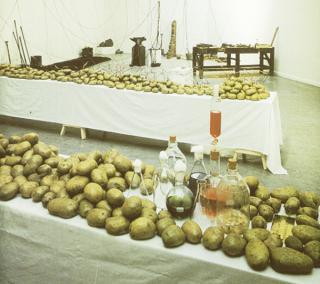 Víctor Grippo. Naturalizar al hombre, humanizar a la naturaleza-Energía vegetal, 1977