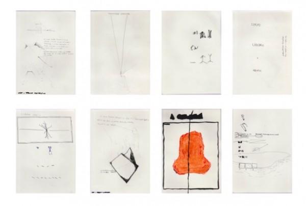 Daniel Barroca, Geografia Interestada de uma mão, 2015, Mixta/papel