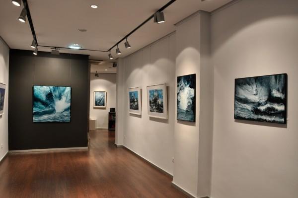 Exposición Mar de mares_galería Ángel Cantero