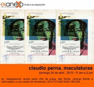 Claudio Perna. Maculaturas
