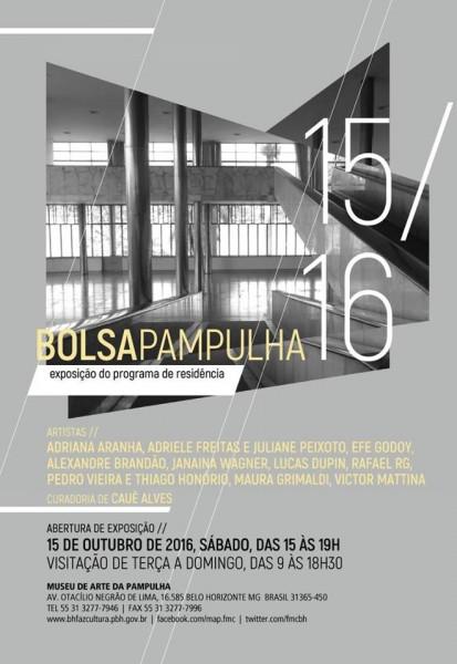 Exposição Bolsa Pampulha 2015/2016