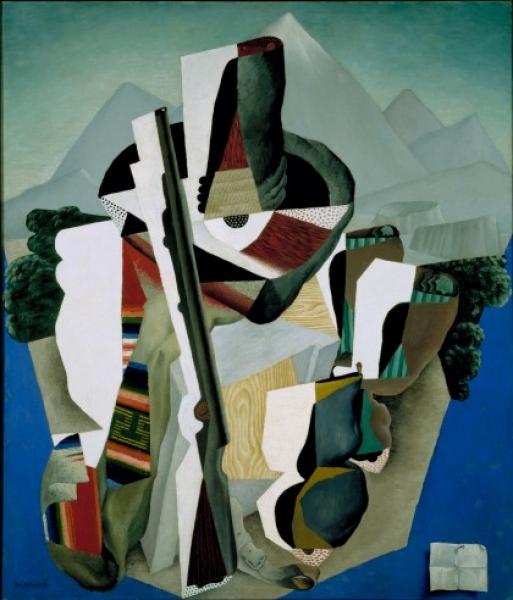 Diego Rivera. Paisaje Zapatista, 420x492