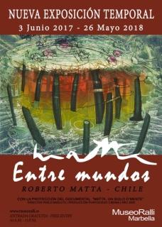 """Cartel exposición """"Matta. Entre mundos"""""""