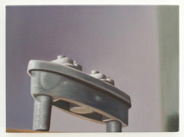 El acorazado, o?leo sobre tela, 48 x 35 cm, 2016
