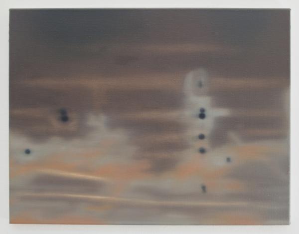 Still life (invert take), oil on canvas, 65 x 50 cm, 2016