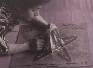 David Medalla, The Mohole Flower, 1964. Imagen cortesía Galeria Luisa Strina