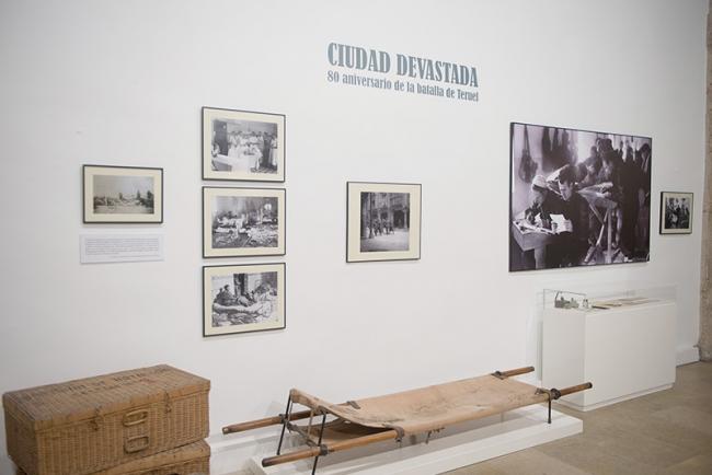 Ciudad devastada. Museo de Teruel