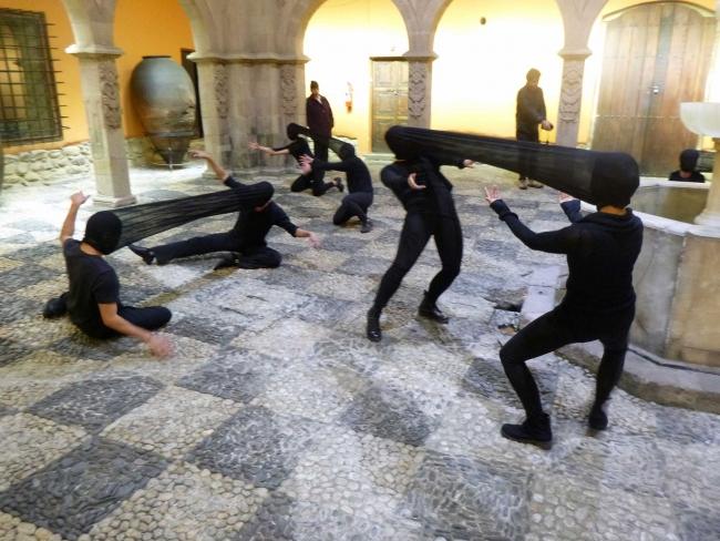 Performance de Ana Barros