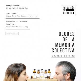 Olores de la Memoria Colectiva. Imagen cortesía Fundación El Mirador Arte Contemporáneo
