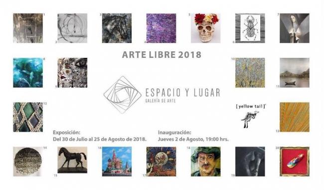 Arte libre 2018