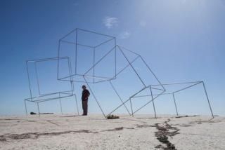 Lukas Ulmi, Desafío al espacio — Cortesía del Gremi de Galeries d'Art de Catalunya