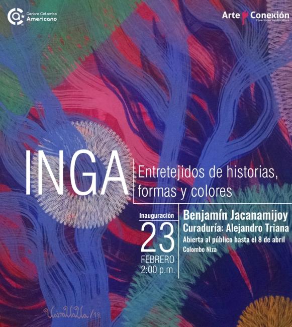 Inga - Entretejidos de historias, formas y colores.