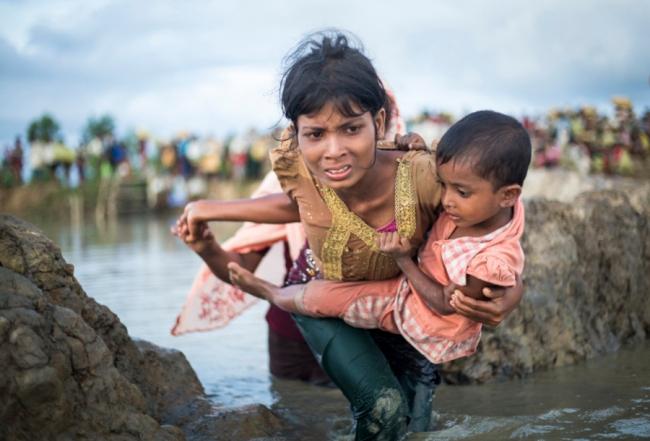 Foto: Rohingya 9 Oct 2017 (© ACNUR/Roger Arnold) — Cortesía de Casa Árabe