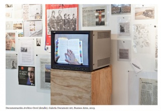 Rosell Meseguer, Instalación OVNI Archive, 2007-2017 — Cortesía del artista