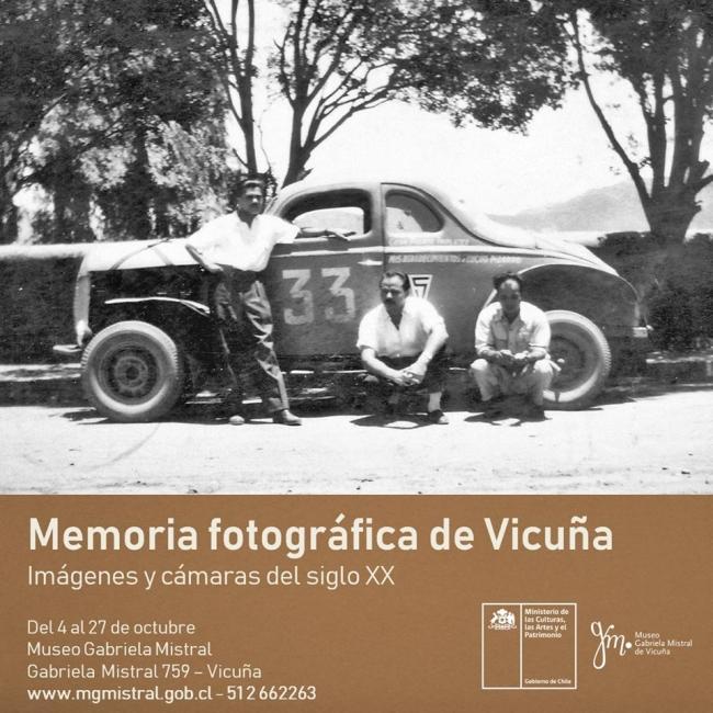 Memoria Fotográfica de Vicuña: Imágenes y cámaras del Siglo XX