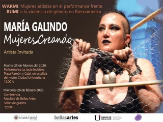 Performance La Jaula Invisible.