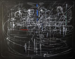 Pedro Morales Elipe — Cortesía de Cruce Arte y Pensamiento Contemporáneo
