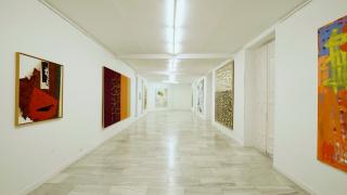 Vista de la exposición «Desde mi memoria» de Miguel Ángel Campano — Cortesía de la galería Juana de Aizpuru