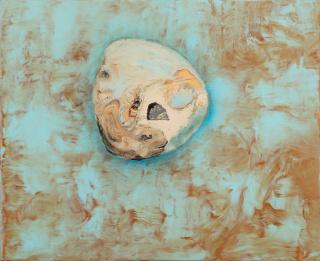 JORGE QUEIROZ. Sem Ti?tulo. 2016. Acri?lico sobre tela. 49 x 51 cm. — Cortesía de la Galeria Bruno Múrias